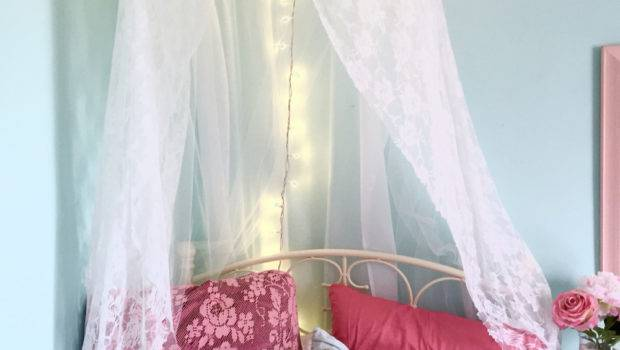 Girl Canopy Bed Curtains Girls