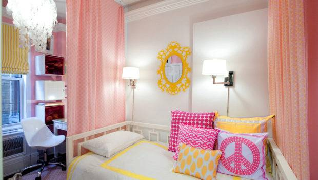 Girl Rooms Design Dazzle Hip Funky Girls Room