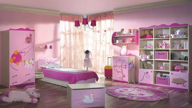 Girls Bedroom Design Idea Chandeliers Room