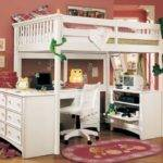 Girls Loft Bed Ideas Plans Small Boys Children