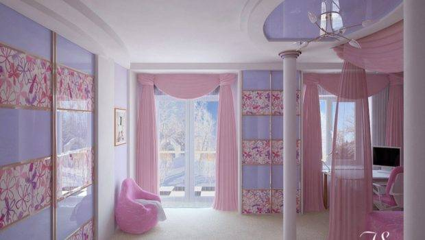 Girls Room Cool Teenage Designs Barbie Princess