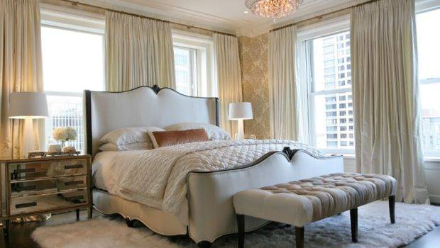 Glam Pad Glamorous White Bedrooms