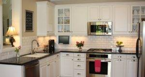 Glamorous White Kitchen Cabinets Remodel Ideas Molded Panel
