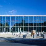 Glass Facade Elevation Displaying