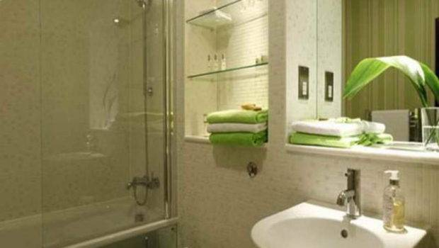 Glass Shower Doors Solution Small Bathrooms Sink