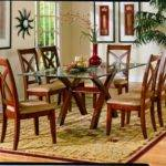 Glass Top Wooden Dining Room Table Ideas