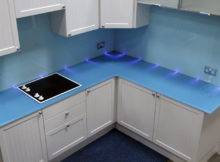 Glass Worktops Kitchen Glassact
