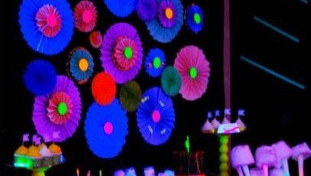 Glow Dark Party Ideas Lovely Events
