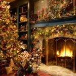 Gold Christmas Tree Decorating Ideas Celebrities
