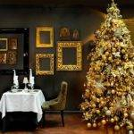 Gold Christmas Tree Decorating Ideas Trees