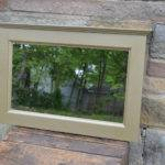 Gold Hammered Metal Paint Finish Mirror Elkwoodproducts
