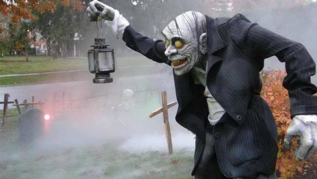 Good Halloween Yard Decorations Ideas
