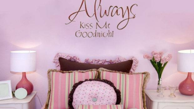 Goodnight Wall Decals Vinyl Stickers Home Decor Living Room Decoration