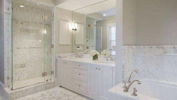 Gorgeous Marble Bathroom Victorian Home