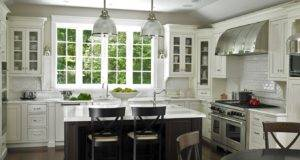 Gorgeous Traditional Kitchen Design White Cabinets