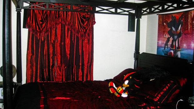Gothic Canopy Bed Curtainscanopy Curtains Courtneyhouse Ndstqtcs