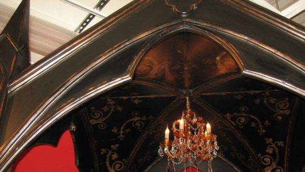 Gothic Canopy Bed Fashion Forward Custom Made