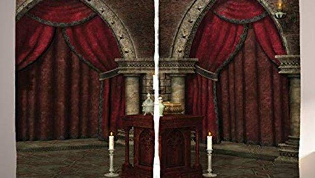 Gothic Curtains Living Room Amazon