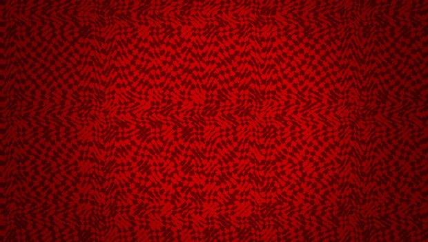 Gothic Pattern Red