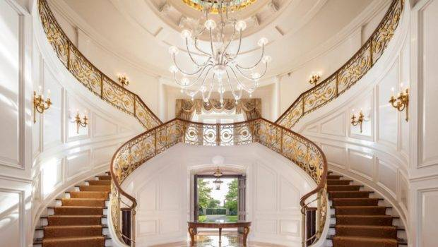 Grand Home Staircase Inside