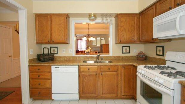 Granite Countertops White Kitchen Appliances New Beautiful