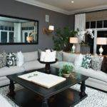 Gray Living Room Bold Accents Hgtv