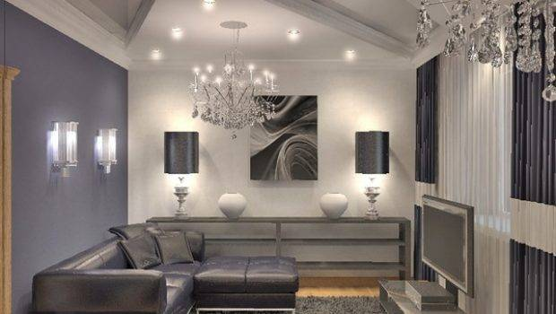 Gray Living Room Designs Elegance