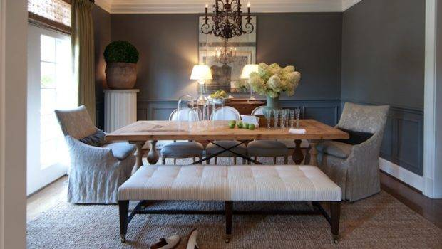 Gray Rooms Traditional Dining Room Higgins Interiors