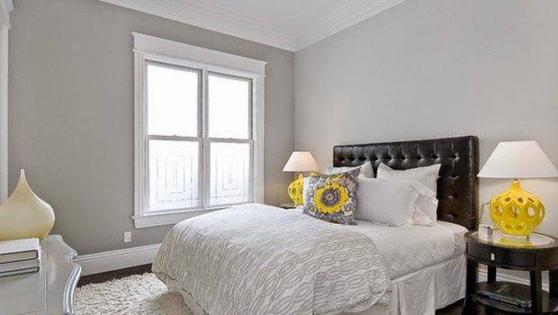 Gray Wall Painting Designs Bedroom