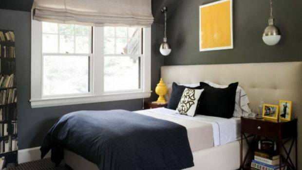 Great Dark Gray Bedroom Wall Color Jpeg
