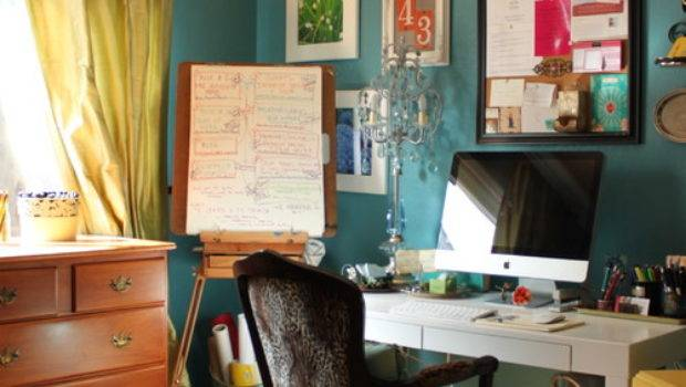 Great Eclectic Home Office Design Ideas