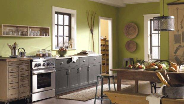 Green Kitchen Paint Colors Ideas Hgtv