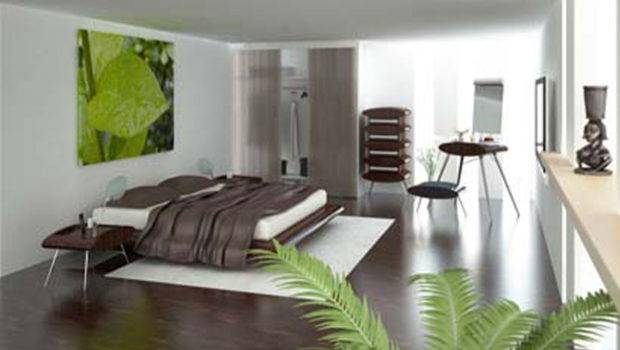 Green Modern Bedroom Design Decosee