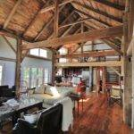 Green Mountain Timber Frames Vermont Barn Homes Interior