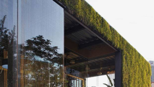 Green Technology Showroom Vector Architects Buildipedia