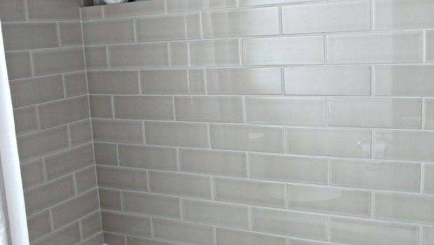Grey Subway Tile Shower Dynamicpeople Club