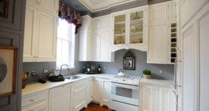 Grey Walls Kitchen Colors Combination