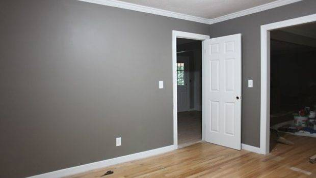 Grey Walls White Trim Think Like Leave Ceiling