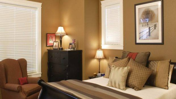 Guest Bedroom Paint Colors Cozy Brown Ideas