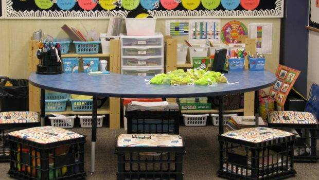 Guided Reading Math Table