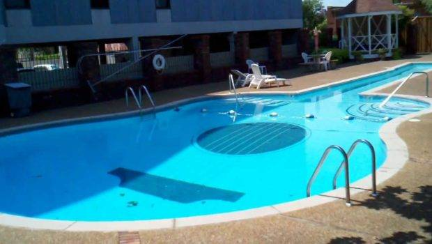 Guitar Shaped Swimming Pool Music Row Area Nashville Tennessee