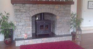Hamco Stove Quartz Stone Dry Build Fireplace