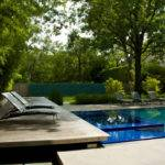 Handsome Outdoor Pool Landscape One Total Modern Glass