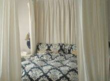 Hang Curtains Ceiling Around Bed Curtain