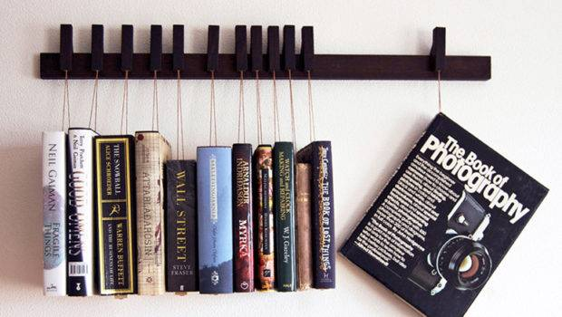 Hanging Book Rack Hang Read