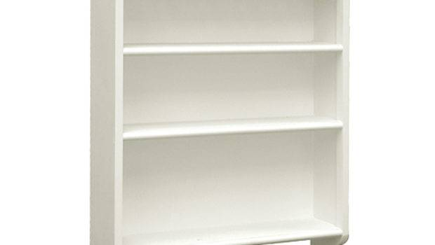 Hanging Wall Shelves White