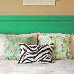 Headboard Ideas Diy Decoration Pillows Green Cool