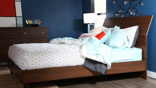 Headboards Gently Tapered Wood Legs Refined Yet
