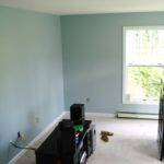 Heart Maine Home New Blue Living Room Before After