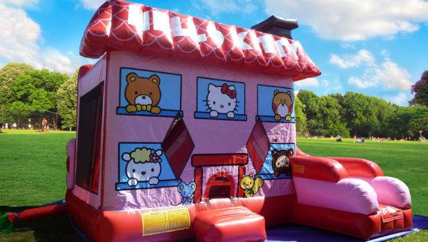 Hello Kitty Bounce House Combo Rental Miami